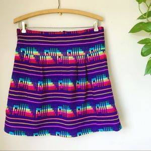 KENNY BOHO Peruvian Mexican Woven Serape Skirt